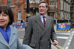 © Licensed to London News Pictures. 10/12/2018. London, UK. Dominic Grieve MP in Westminster. Photo credit: Rob Pinney/LNP