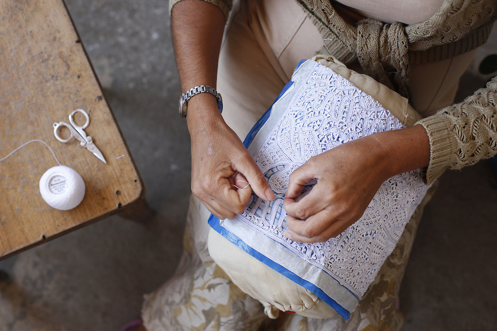 Pocao_PE, Brasil.<br /> <br /> Artesanato conhecido como Renda de Renascenca em Pocao, Pernambuco.<br /> <br /> Renda Renascenca is a typica craft in Brazil in Pocao, Pernambuco.<br /> <br /> Foto: LEO DRUMOND / NITRO
