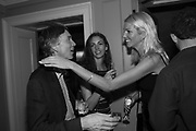 THE MARQUESS OF CHOLMONDELEY; MARCHIONESS OF CHOLMONDELEY; GEORGIANA HUDDART,, Robin Birley and Lady Annabel Goldsmith Summer Party. Hertford St. London. 5 July 2017