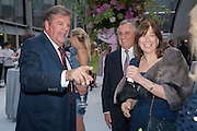 JOHANN RUPERT; LORD ASTOR; LADY ASTOR, CARTIER CHELSEA FLOWER SHOW DINNER Dinner hosted by Cartier in celebration of the Chelsea Flower Show was held at Battersea Power Station. 22 May 2012