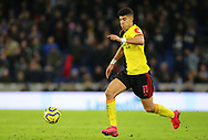 Watford's Adam Masina during the Premier League match at the American Express Community Stadium, Brighton and Hove. Picture date: 8th February 2020. Picture credit should read: Paul Terry/Sportimage