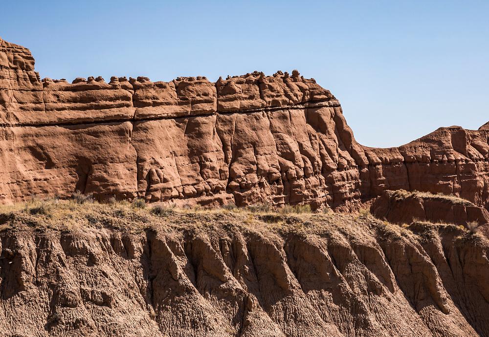 Rock formations near Kodachrome Basin State Park, Utah, USA.