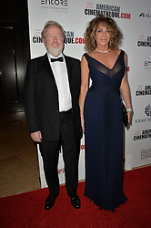 Ridley Scott & Giannina Facio bei der 30th Annual American Cinematheque Awards Gala in Beverly Hills / 141016