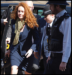 Rebekah and her husband Charlie Brooks arrive at Westminster Magistrates Court,  Wednesday 13th June 2012.Photo by Andrew Parsons/i-Images..All Rights Reserved ©Andrew Parsons/i-Images .See Special Instructions