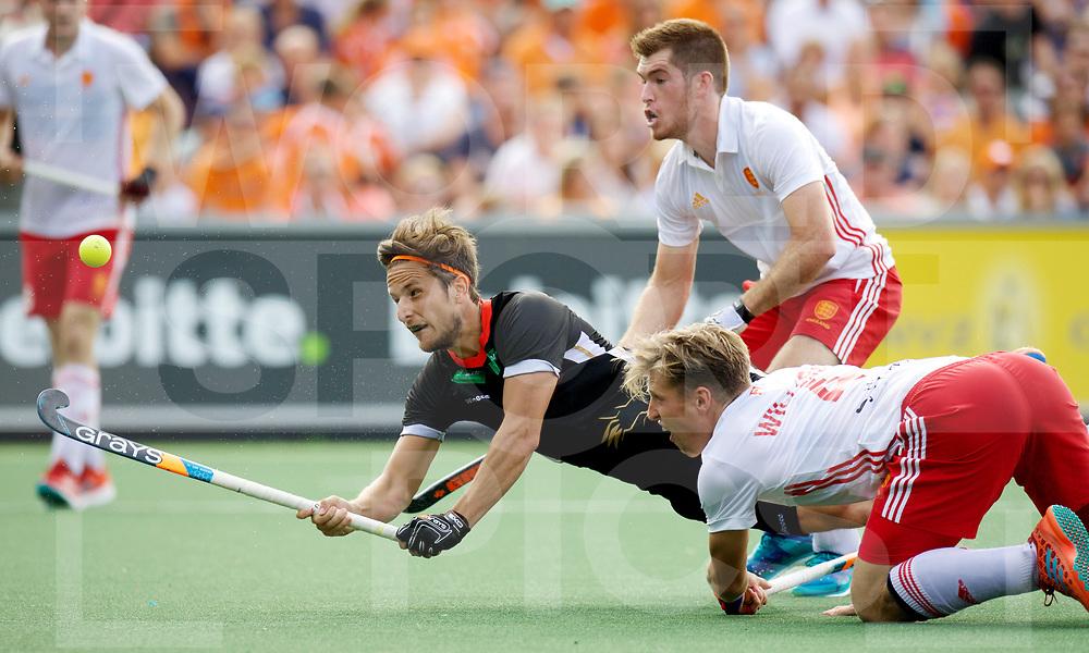AMSTERDAM - Rabo EuroHockey Championships <br /> 19 Germany - England<br /> foto: Marco Miltkau.<br /> Worldsportpics COPYRIGHT FRANK UIJLENBROEK