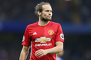 Daley Blind of Manchester United looking on. Premier league match, Chelsea v Manchester Utd at Stamford Bridge in London on Sunday 23rd October 2016.<br /> pic by John Patrick Fletcher, Andrew Orchard sports photography.