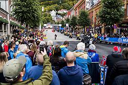 September 20, 2017 - Bergen, NORWAY - 170920 Spectators are standing around the bike changing zone during the Men Elite Individual Time Trial on September 20, 2017 in Bergen..Photo: Jon Olav Nesvold / BILDBYRN / kod JE / 160023 (Credit Image: © Jon Olav Nesvold/Bildbyran via ZUMA Wire)