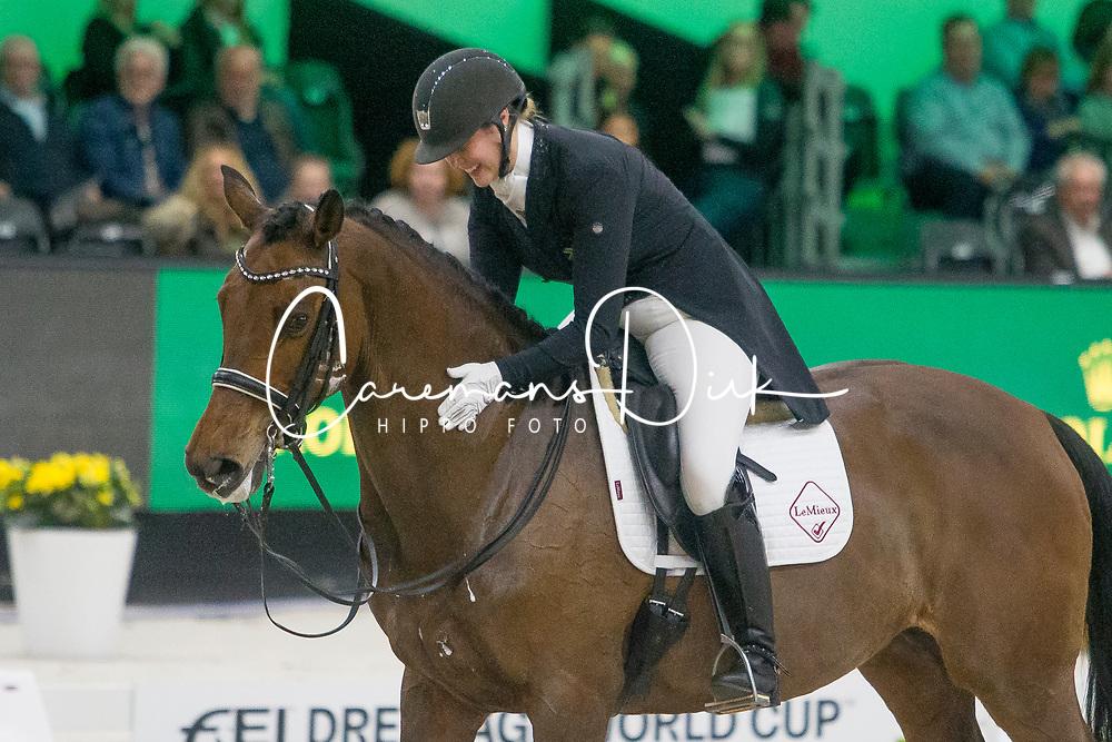 Ferreira Gretha, RSA, Lertevangs Lavinia<br /> FEI Dressage World Cup™ Grand Prix presented by RS2 Dressage - The Dutch Masters<br /> © Hippo Foto - Sharon Vandeput<br /> 14/03/19