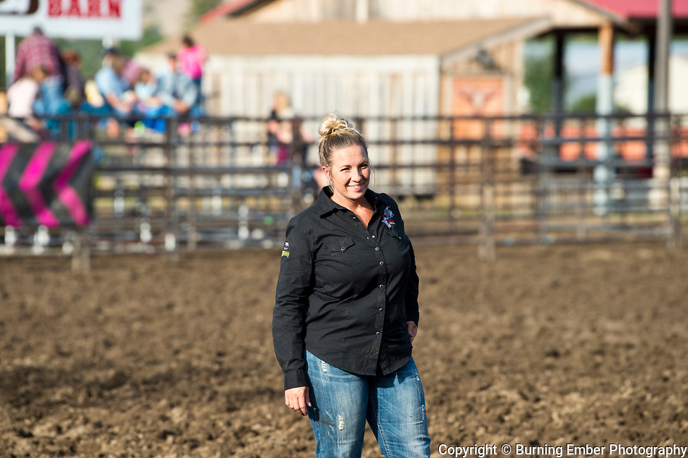 Amy Sue Godwin at the Darby Broncs N Bulls event Sept 7th 2019.  Photo by Josh Homer/Burning Ember Photography.  Photo credit must be given on all uses.