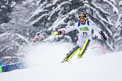Wuerz Martin of Austria  during Slalom race at 2019 World Para Alpine Skiing Championship, on January 23, 2019 in Kranjska Gora, Slovenia. Photo by Matic Ritonja / Sportida