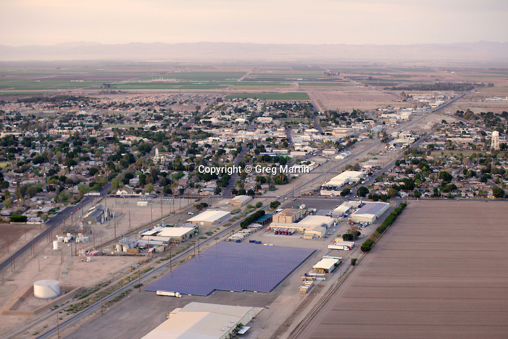 Aerial photograph of Five Crowns in Brawley California,