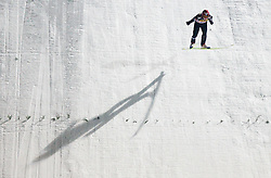 Hari Olli (FIN) competes during Second round of the FIS Ski Jumping World Cup event of the 58th Four Hills ski jumping tournament, on January 6, 2010 in Bischofshofen, Austria. (Photo by Vid Ponikvar / Sportida)