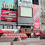 CH0039. RKO Palace Theatre, 1564 Broadway, New York. Movie is Rock Hudson, One Desire, released in 1955