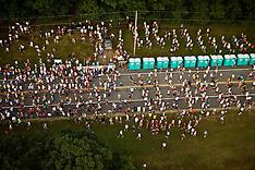 Aerial views of 10K Race