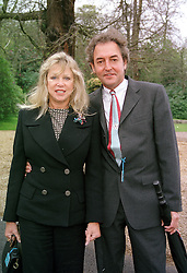 MISS PATTI BOYD and MR ROD WESTON at a race<br />  meeting in Surrey on 28th April 2000.ODE 48