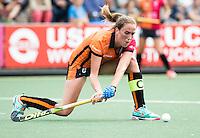 UTRECHT - HOCKEY -  Daphne van der Velden (Oranje-Rood)    tijdens  de hoofdklasse hockeywedstrijd dames Kampong-Oranje-Rood (0-5) .  COPYRIGHT KOEN SUYK