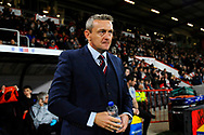 England U21's head coach Aidy Boothroyd during the U21 International match between England and Germany at the Vitality Stadium, Bournemouth, England on 26 March 2019.