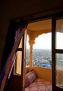 A view from a balcony over Jaisalmer, Rajasthan, India