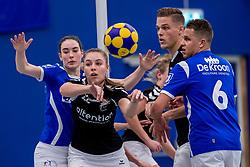 27-01-2018 NED: OVVO/De Kroon - Oost Arnhem, Maarssen<br /> De korfballers/sters uit Arnhem winnen met 24 - 22 / Nynke Lokhorst #22