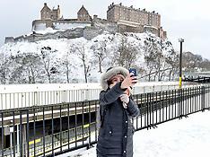 Winter weather | Edinburgh | 1 March 2018
