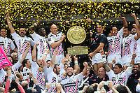Victoire Stade Francais - Bouclier de Brennus - 16.05.2015 - Clermont / Stade Francais - Finale Top 14<br />Photo : Nolwenn Le Gouic / Icon Sport