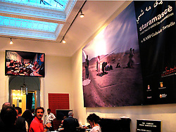 London 12 June 2007. .Launch of Saray Mashay an Afghan Photo-Talk at the FPA..The event is part of Salento Negroamaro 2007