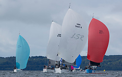 Largs Regatta Week 2017 <br /> Day 1<br /> <br /> GBR7667R, Now or Never 3, Neil Sandford, Fairlie YC, Mat 1010<br /> <br /> Picture Marc Turner