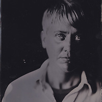 Fran, tintype portrait made with wetplate collodion process.