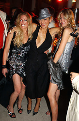 Left to right, LAURA COMFORT, DIANA JENKINS and MELISSA ODABASH at Andy & Patti Wong's Chinese New Year party to celebrate the year of the Rooster held at the Great Eastern Hotel, Liverpool Street, London on 29th January 2005.  Guests were invited to dress in 1920's Shanghai fashion.<br /><br />NON EXCLUSIVE - WORLD RIGHTS