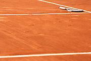 Roland Garros. Paris, France. June 5th 2006..Djokovic's raquet after he won (7-6, 7-6, 6-3) against Gael Monfils  .