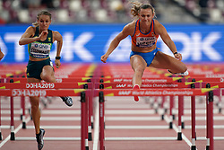 05-10-2019 QAT: World Championships Athletics, Doha<br /> The 2019 IAAF World Athletics Championships is the seventeenth edition of the biennial, global athletics competition organized by the International Association of Athletics Federations / Rikenette Steenkamp of South Africa, Nadine Visser of the Netherlands