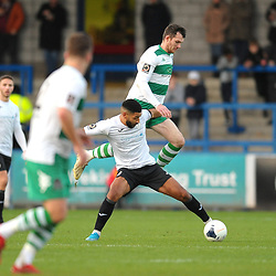 TELFORD COPYRIGHT MIKE SHERIDAN Ellis Deeney of Telford during the Vanarama Conference North fixture between AFC Telford and Farsley at the New Bucks head Stadium on Saturday, December 7, 2019.<br /> <br /> Picture credit: Mike Sheridan/Ultrapress<br /> <br /> MS201920-033