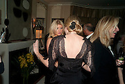 DR. KATE JAMES;; GILLI DJANOGLY, Dinner hosted by Denise Estfandi, for the Council of the Serpentine Gallery to celebrate the opening of  Nancy Spero at the Serpentine Gallery. London.  Upper Brook house. 10a upper brook st.1 March 2011. -DO NOT ARCHIVE-© Copyright Photograph by Dafydd Jones. 248 Clapham Rd. London SW9 0PZ. Tel 0207 820 0771. www.dafjones.com.
