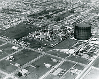 1925 Aerial of Pickford-Fairbanks Studios