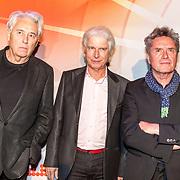 NLD/Utrecht/20171002 - Uitreiking Buma NL Awards 2017, Hennie Vrienten, George Kooymans, Boudewijn de Groot, - Vreemde Kostgangers