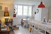 The Elliotts' dining room, Pickwell Manor, Georgeham, North Devon, UK.<br /> CREDIT: Vanessa Berberian for The Wall Street Journal<br /> HOUSESHARE