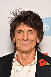 Ronnie Wood pictured at the Q Awards, at the Roundhouse in Camden, London. Picture date: Tuesday November 2, 2016. Photo credit should read: Matt Crossick/ EMPICS Entertainment.