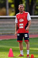 Fotball<br /> Frankrike<br /> Foto: DPPI/Digitalsport<br /> NORWAY ONLY<br /> <br /> FOOTBALL - MISCS 2009/2010 - FRANCE TRAINING - 1/09/2009<br /> <br /> FRANCK RIBERY