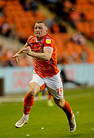 Football - 2021 / 2022 EFL Carabao Cup - Round Two - Blackpool vs. Sunderland -Bloomfield Road - Tuesday 24th August 2021<br /> <br /> Shayne Lavery of Blackpool, at Bloomfield Road.<br /> <br /> COLORSPORT/Alan Martin