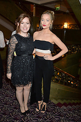 Left to right, TANYA BURR and LAURA WHITMORE at the WGSN Global Fashion Awards 2015 held at The Park Lane Hotel, Piccadilly, London on 14th May 2015.