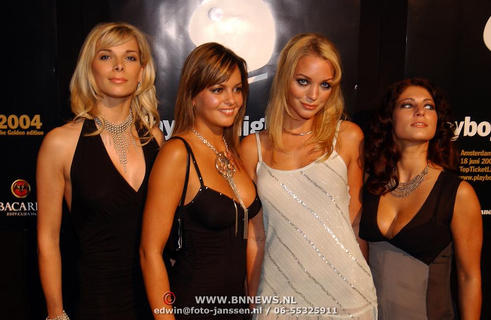 Playboy Night 2004, playmate's, Griet, Klarissa Patijn, Dorien, Rosita