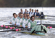 Putney, London, ENGLAND, 02.04.2006, Cambridge, find themselves down to Oxford, after both crews get through the rough water, in the  2006, Varsity,Boat Race, Oxford vs Cambridge,  © Peter Spurrier/Intersport-images.com.[Mandatory Credit Peter Spurrier/ Intersport Images] 2006, Varsity Boat Race,  Varsity, Boat race. Rowing Course: River Thames, Championship course, Putney to Mortlake 4.25 Miles Rough, Choppy, Water, Conditions.