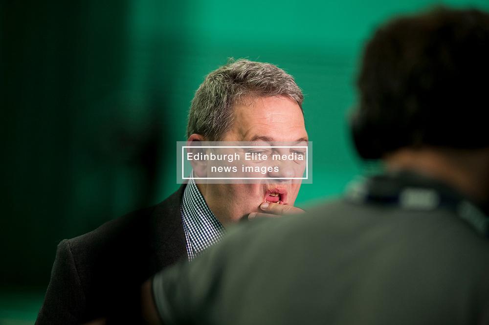 UKIP Scottish leader David Coburn at the Kirkcaldy & Cowdenbeath constituency count.<br /> <br /> © Dave Johnston/ EEm