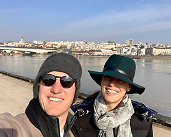 """Ana Ivanovic releases a photo on Instagram with the following caption: """"Look who is in town \ud83d\udc6a\ud83d\udc99"""". Photo Credit: Instagram *** No USA Distribution *** For Editorial Use Only *** Not to be Published in Books or Photo Books ***  Please note: Fees charged by the agency are for the agency's services only, and do not, nor are they intended to, convey to the user any ownership of Copyright or License in the material. The agency does not claim any ownership including but not limited to Copyright or License in the attached material. By publishing this material you expressly agree to indemnify and to hold the agency and its directors, shareholders and employees harmless from any loss, claims, damages, demands, expenses (including legal fees), or any causes of action or allegation against the agency arising out of or connected in any way with publication of the material."""