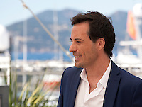 Actor Diego Velazquez at the The Long Night of Francisco Sanctis (La Larga Noche De Francisco Sanctis) film photo call at the 69th Cannes Film Festival Friday 20th May 2016, Cannes, France. Photography: Doreen Kennedy
