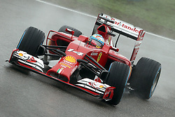 19.04.2014, International Circuit, Shanghai, CHN, FIA, Formel 1, Grand Prix von China, Qualifying Tag, im Bild Fernando Alonso (ESP) Ferrari F14 T. // during the Qualifyingday of Chinese Formula One Grand Prix at the International Circuit in Shanghai, China on 2014/04/19. EXPA Pictures © 2014, PhotoCredit: EXPA/ Sutton Images/ Mina<br /> <br /> *****ATTENTION - for AUT, SLO, CRO, SRB, BIH, MAZ only*****