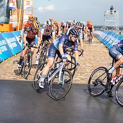 22-08-2020: Wielrennen: NK vrouwen: Drijber<br /> Lucinda Brand (Netherlands / Team Trek Segafredo Women), Charlotte Kool (Netherlands / Team NXTG Racing), Lonneke Uneken Lonneke (Netherlands / Boels - Dolmans Cycling Team)