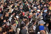 crowded Tokyo Japan