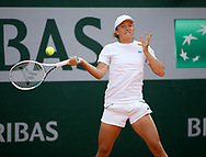Iga Swiatek of Poland during practice ahead of the French Open 2021, a Grand Slam tennis tournament at Roland-Garros stadium on May 29, 2021 in Paris, France - Photo Jean Catuffe / ProSportsImages / DPPI