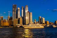 Hudson River, New York, New York USA.